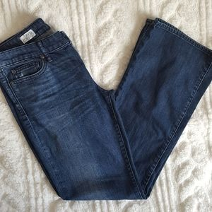Gap 1969 sexy boot jeans with flap back pockets